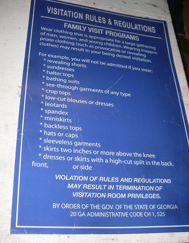 Visitation Rules