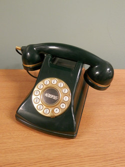 Faux Rotary Phone