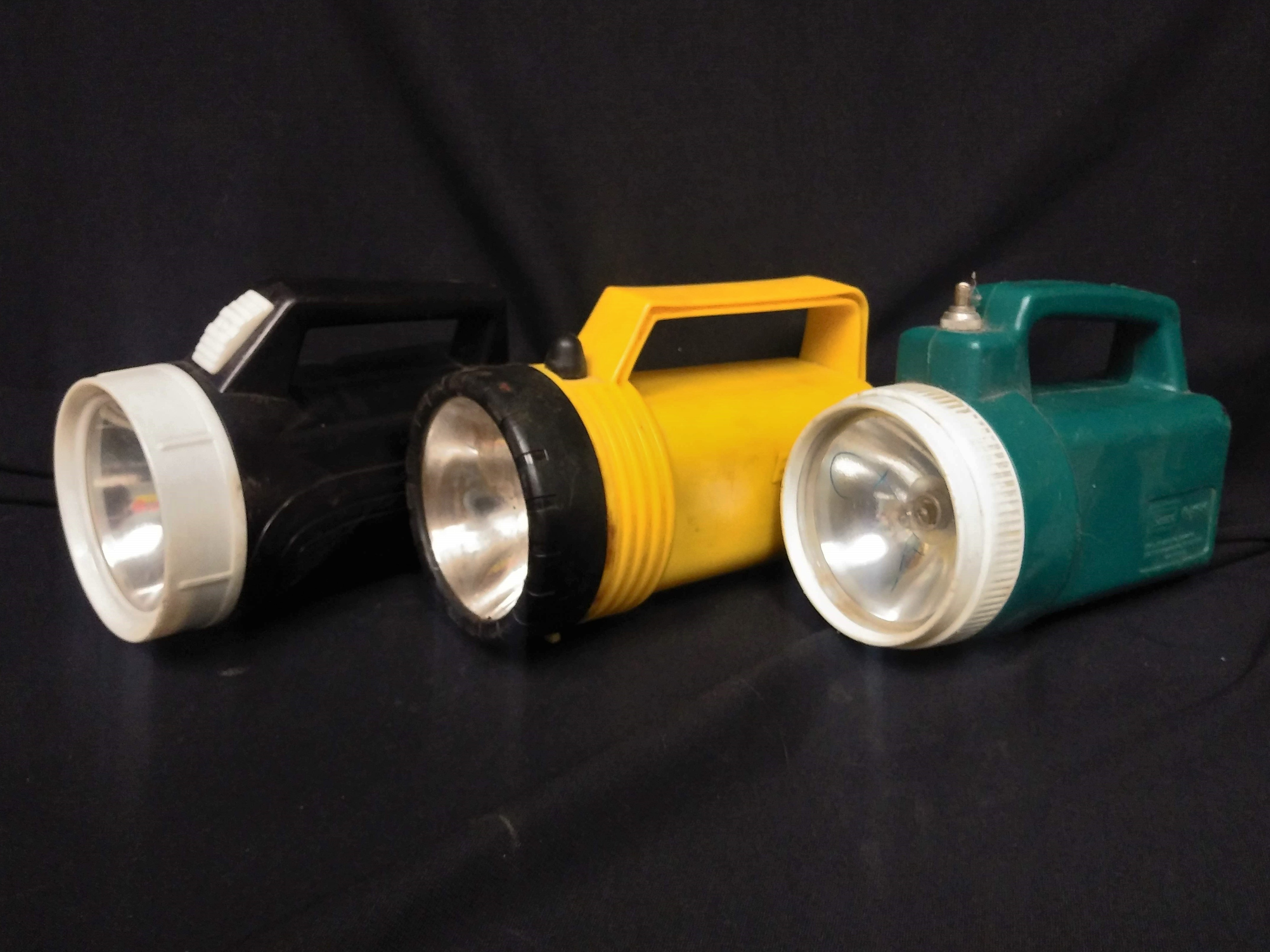 Floating Flashlights