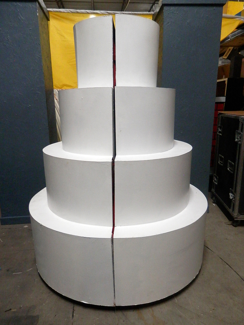 Side Reveal Giant Cake