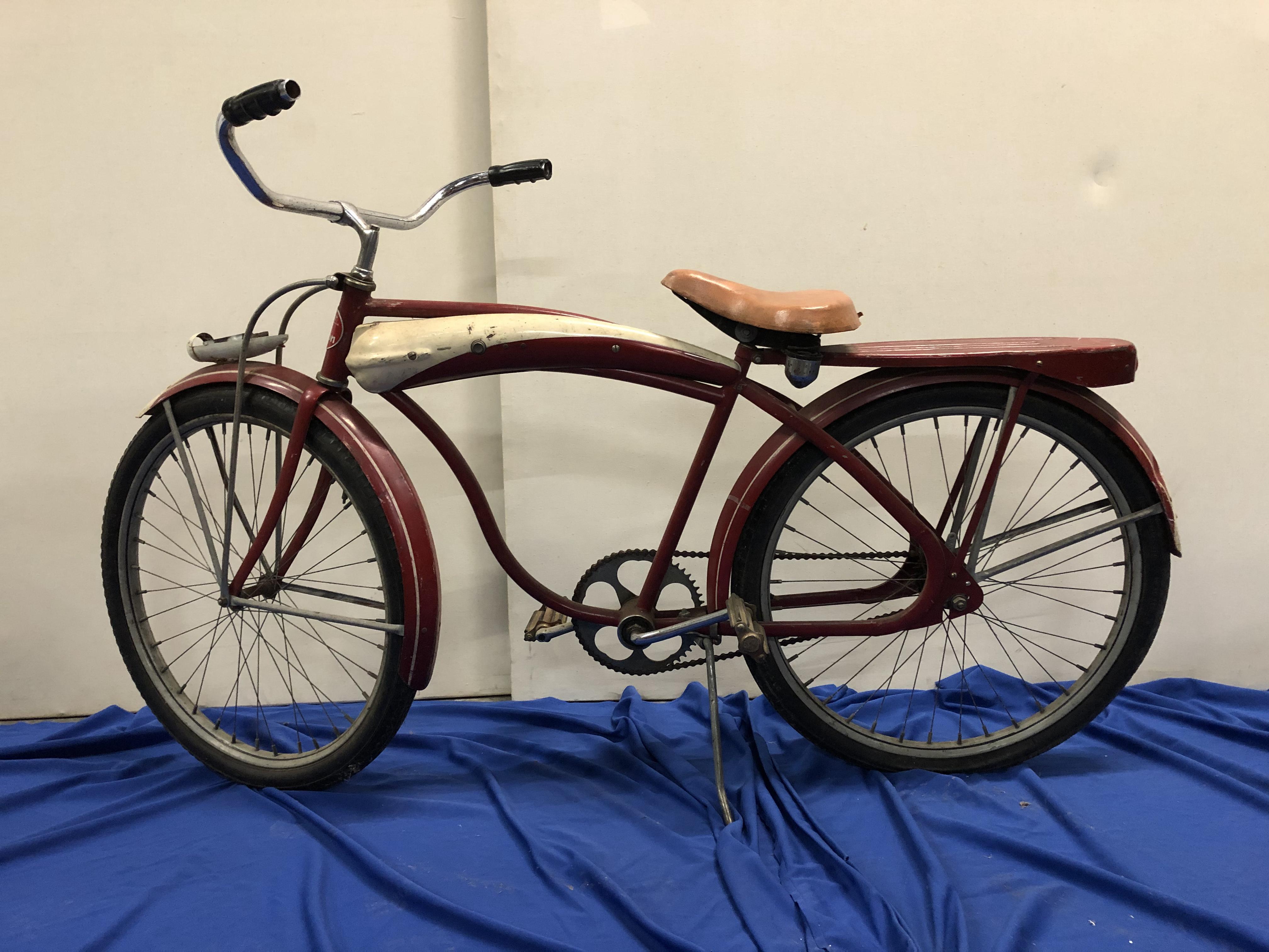 Vintage Red Bicycle