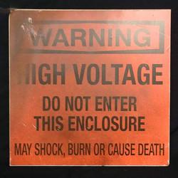 Sign - Warning High Voltage