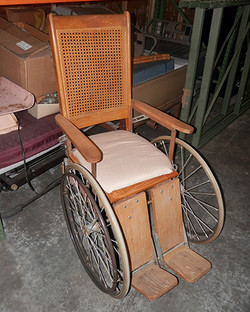 Antique Cane Wheelchair