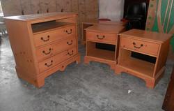Hotel Room Furniture Set - Dresser Side