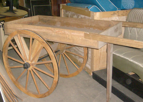 Wagon Wheel Cart