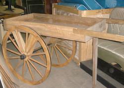 Wagon Wheel Cart