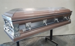 Bronze and Silver Coffin
