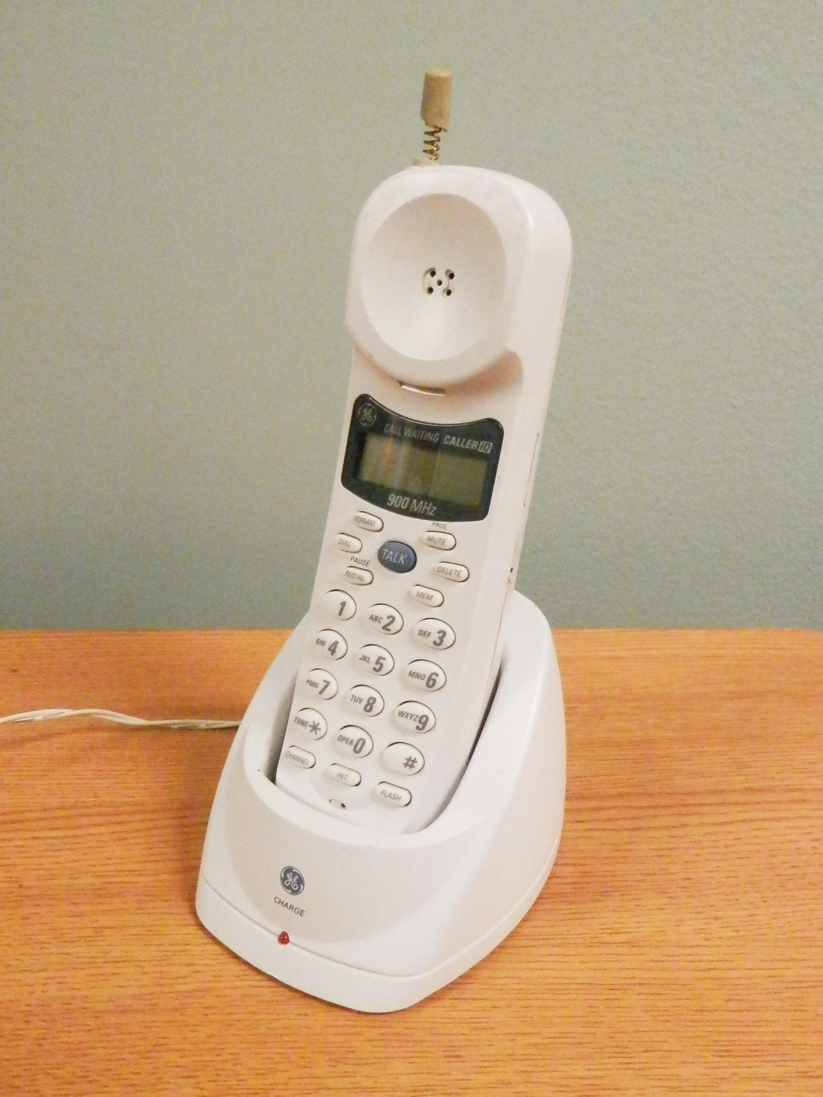 Cordless Phone 900mhz GE
