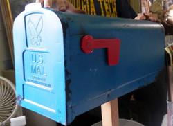 Street - Mailbox blue