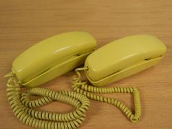 Trimline Phones yellow