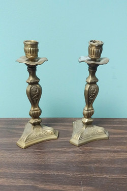 Candle Holder Pair