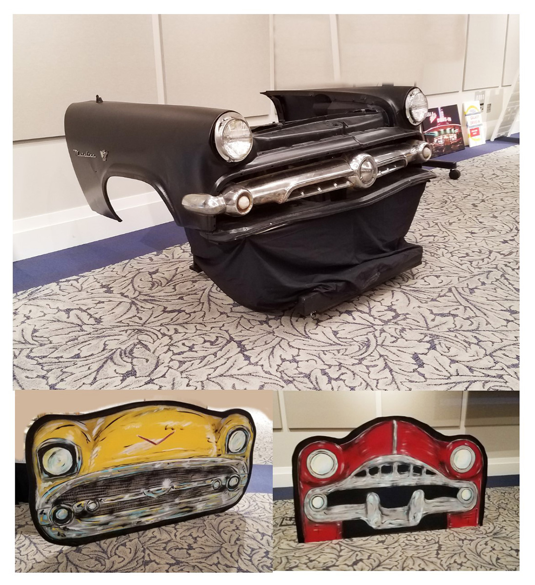 50s Car Fronts