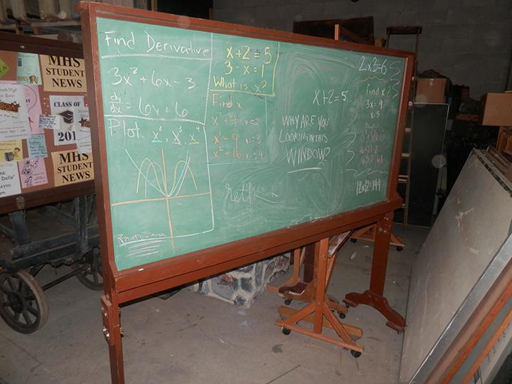 Rolling Chalkboards