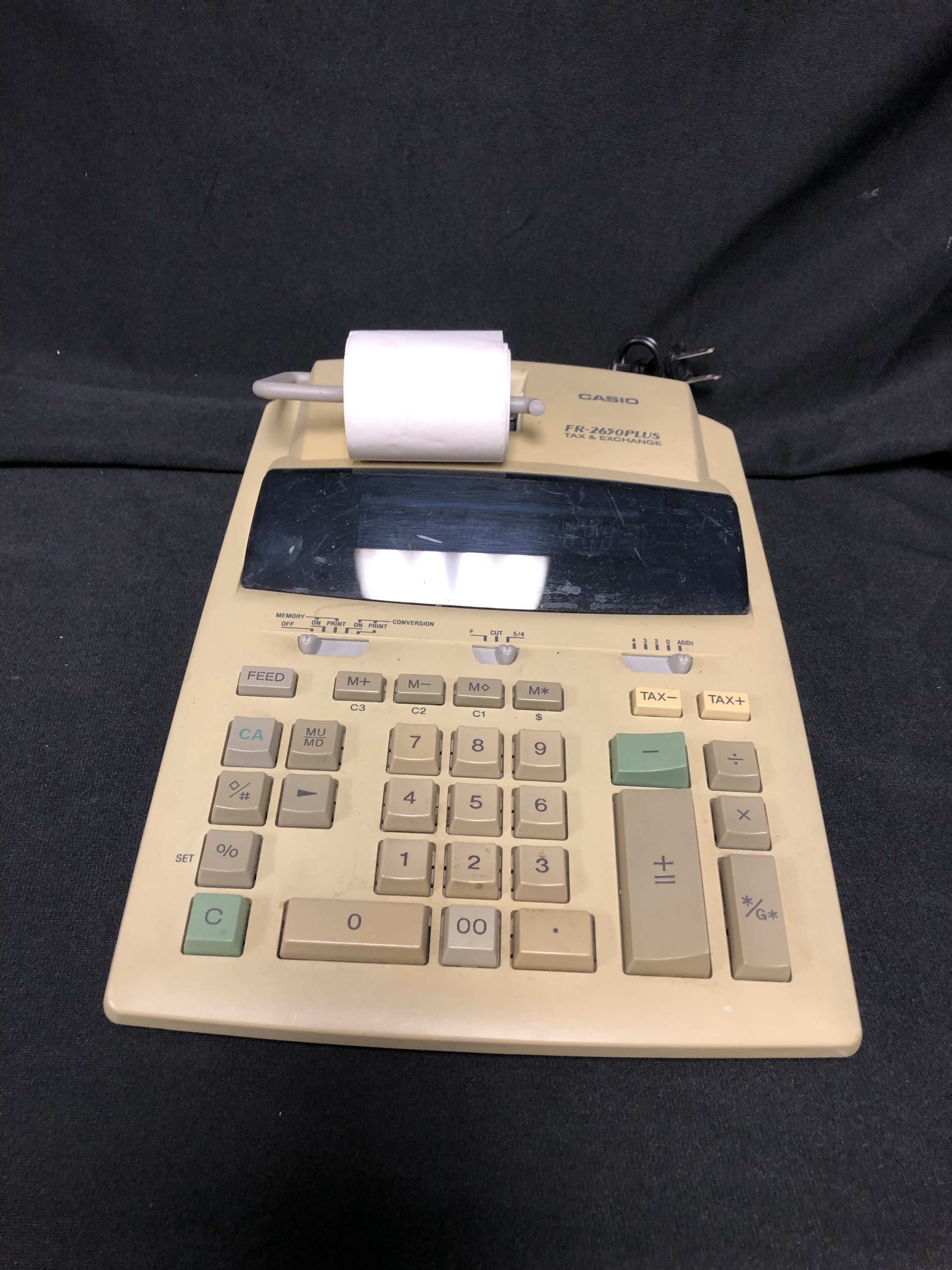 Adding Machine Printing Calculator