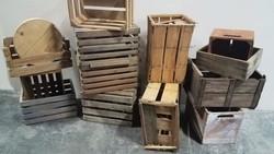 Various Wood Crates