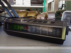 GE Digital Alarm Clock Radio 1970s