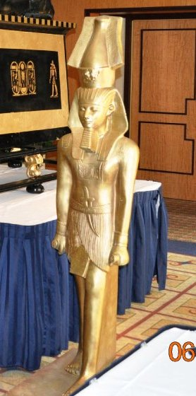 Gold Egyptian Guards