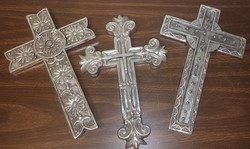 Wall Crosses - silver
