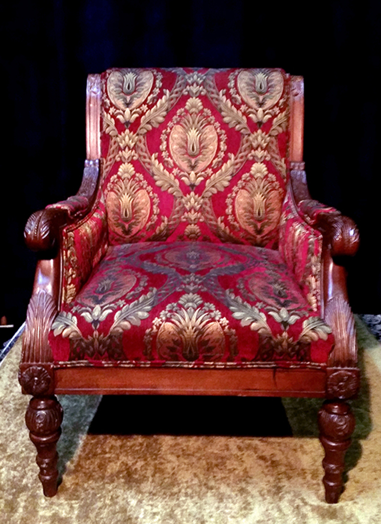 Paisley Regal Chair