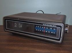 Sears Flip Clock Radio