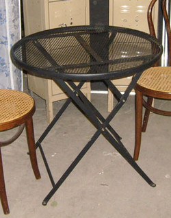 Wrought Iron Cafe Tables