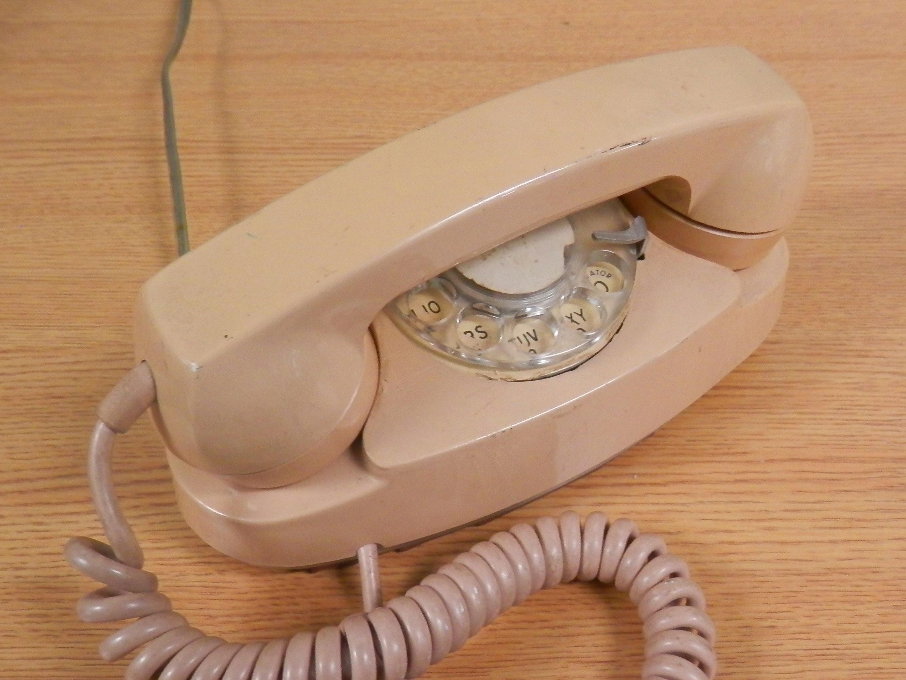 Princess Phone tan beige
