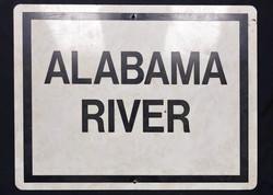 Sign - Alabama River