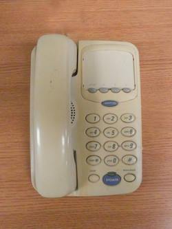 Corded Phone offwhite