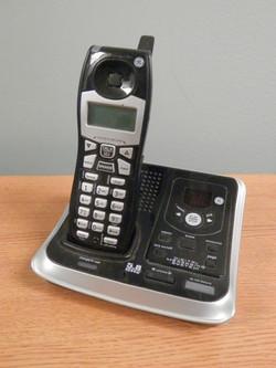 Cordless Phone GE black gray