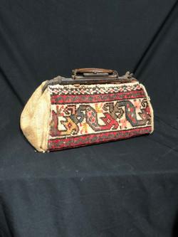 Carpet Bag Vintage tan