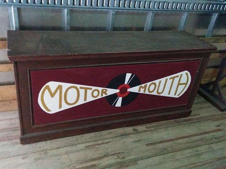 Hairspray Motor Mouth sign