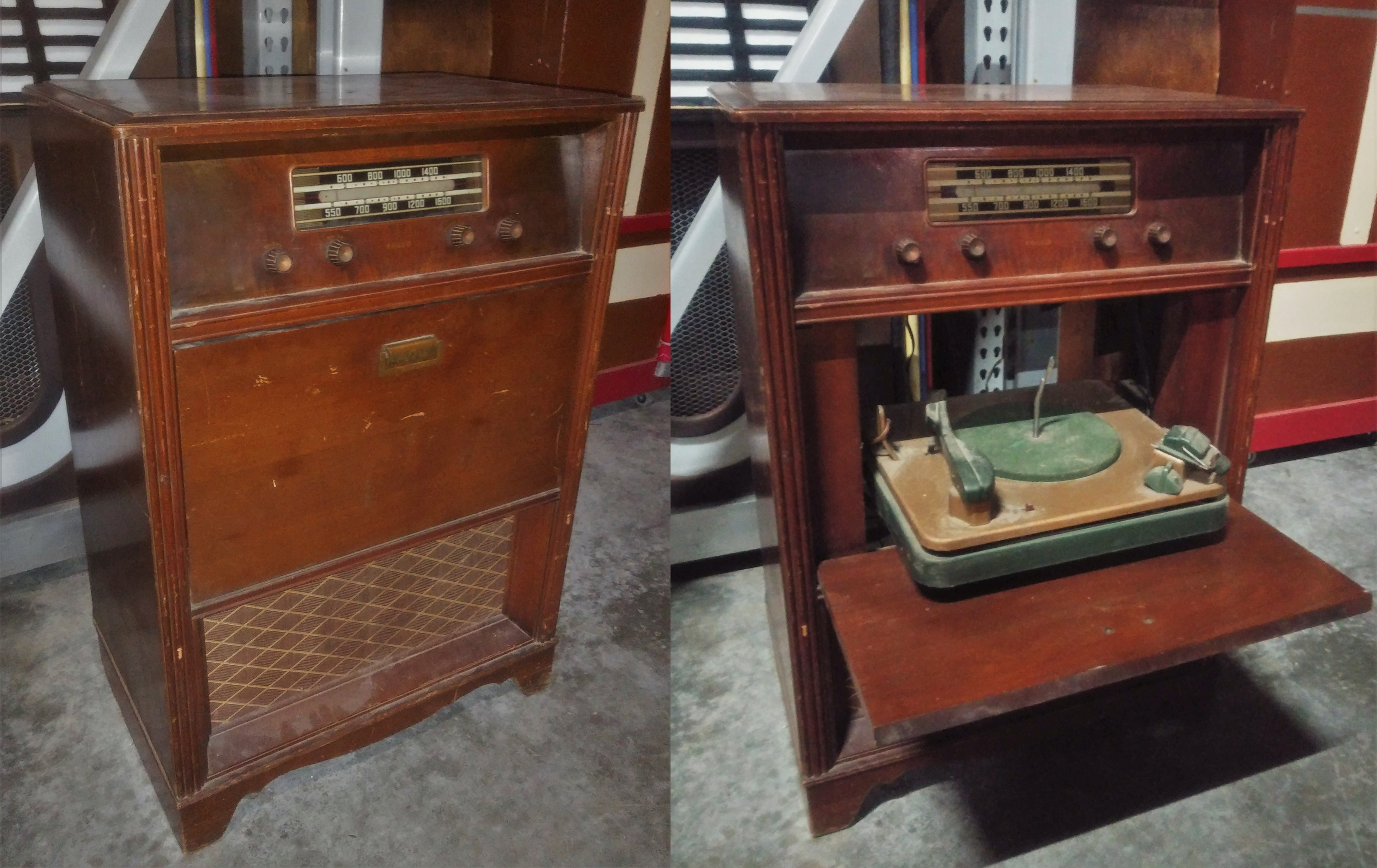 Radio Phonograph - floor model