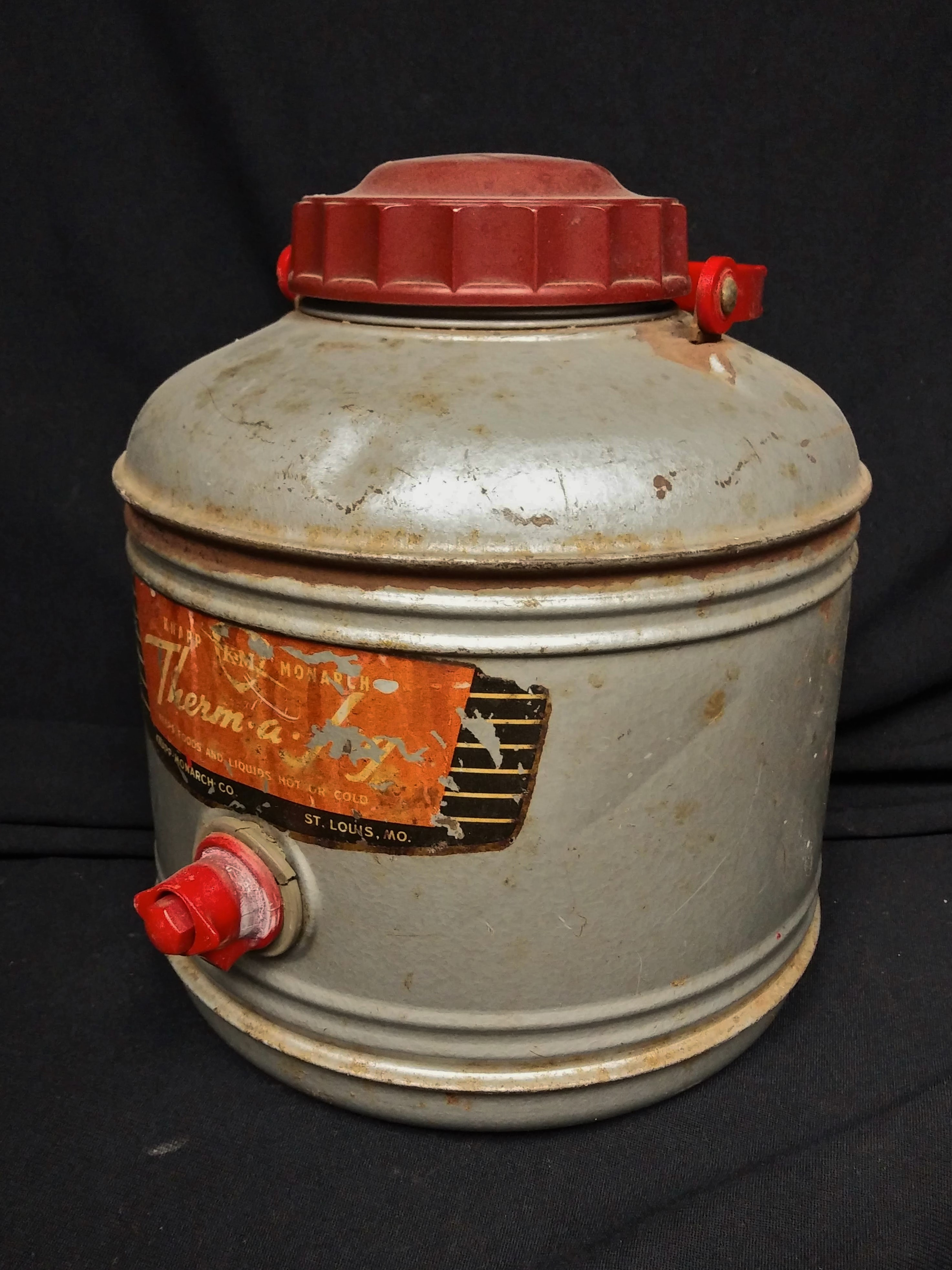 Knapp Monarch Therm-a-Jug Cooler - vintage
