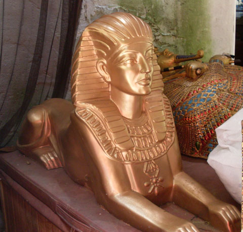 Fiberglass Sphinx