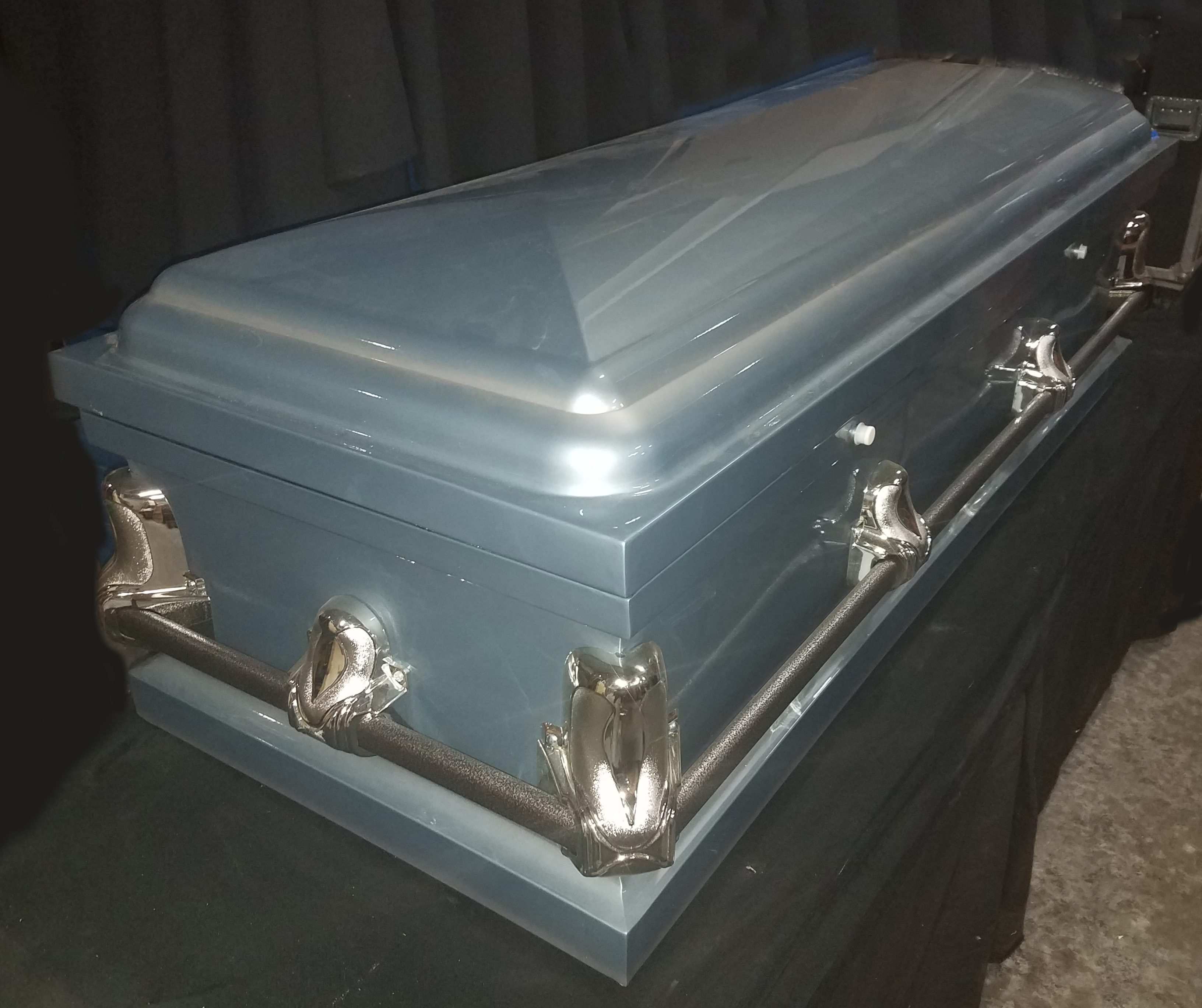 Empire Blue Childs Coffin