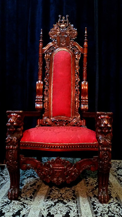 XXL Nordic Throne Pair