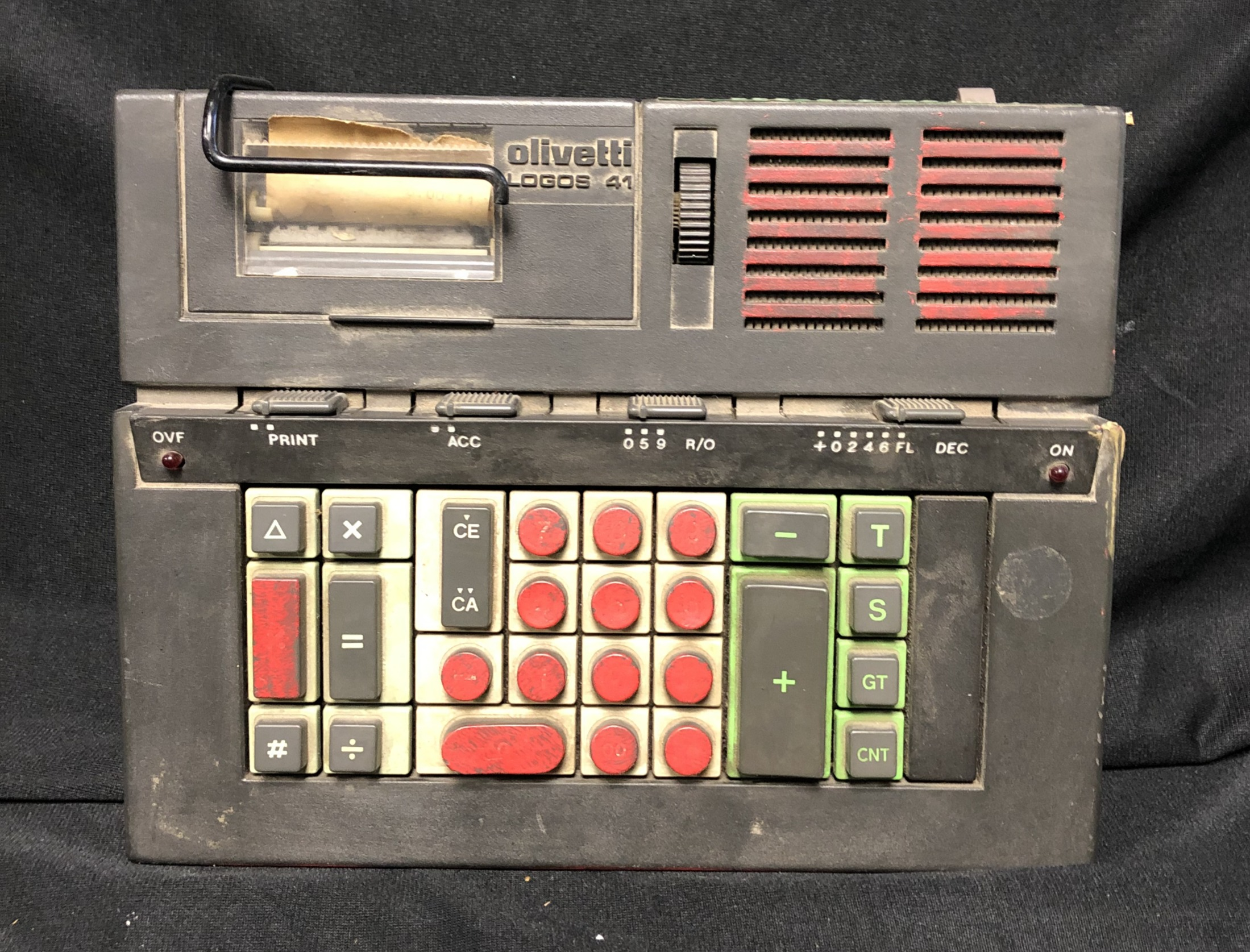 Electric Printing Calculator