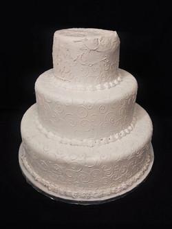 3-Tier White Cake