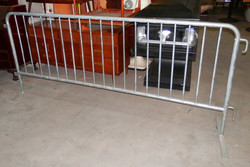 Traffic Crowd Control Barrier 8ft
