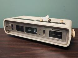 Panasonic Flip Clock Radio 1970s