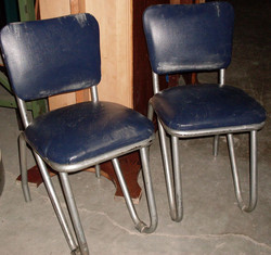 Chair - kitchen w 50s dining set of 4