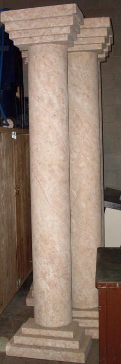 Flat Back Columns