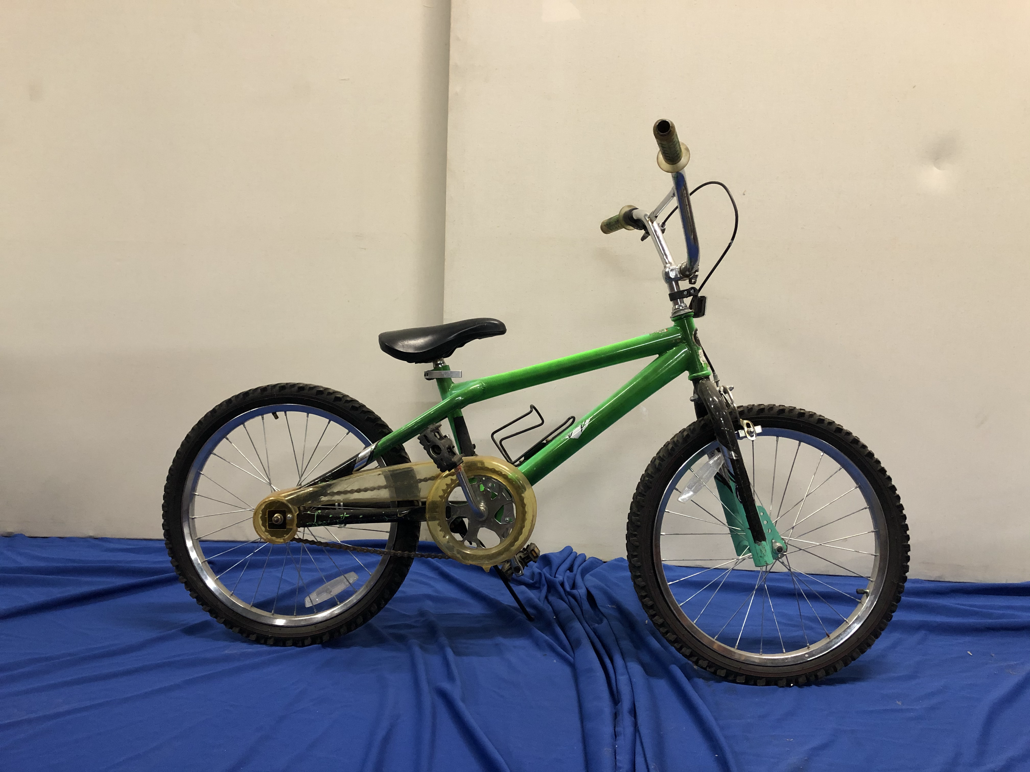 Green BMX Bicycle