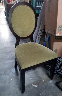 chair - lt green olive no arms