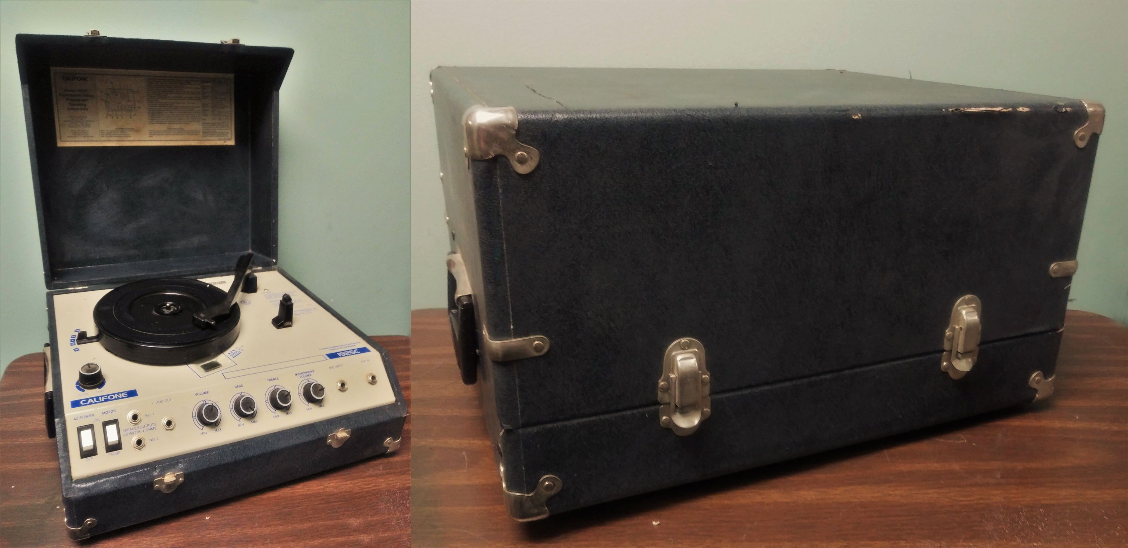 Turntable Phonograph