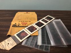 Vintage developed film
