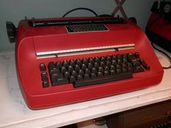 IBM Selectric red