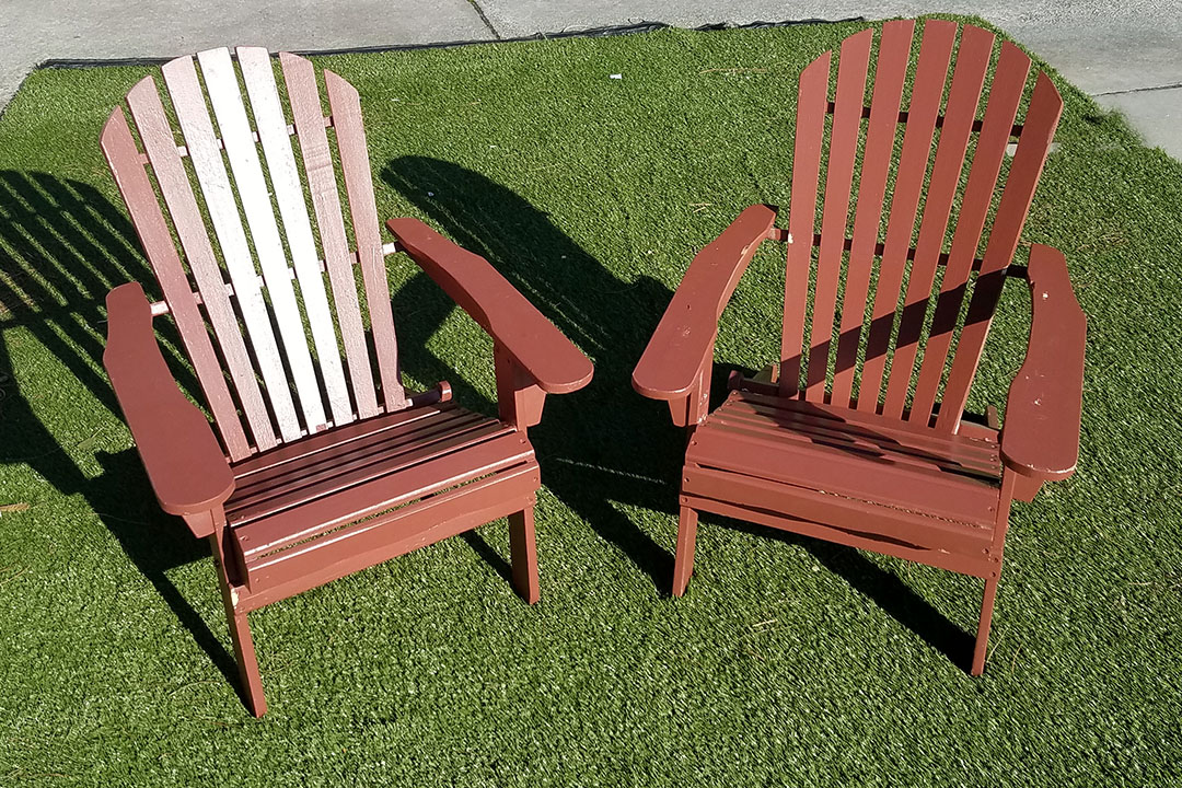 Adirondack Chairs - painted