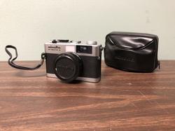 Minolta Film Camera with case