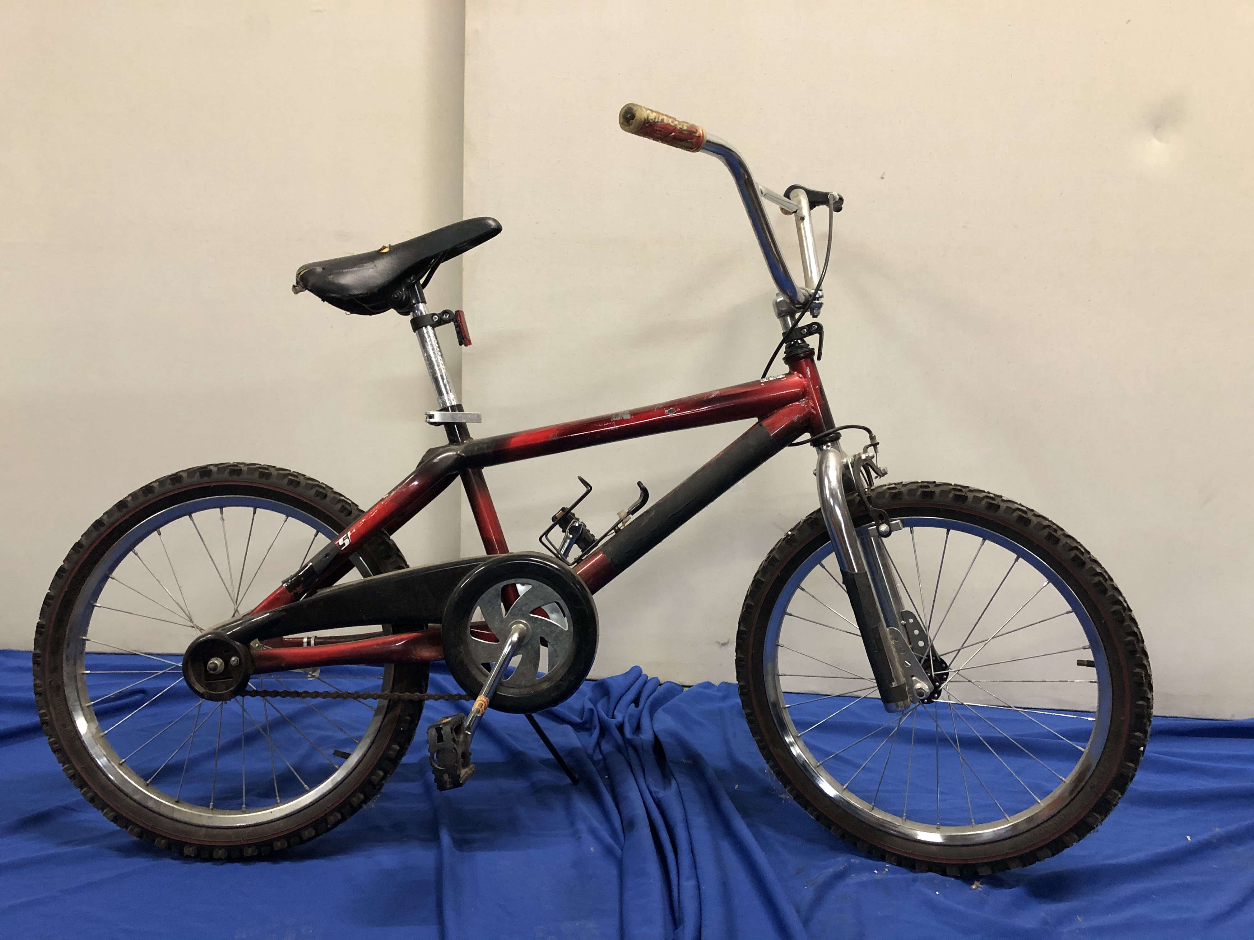 Red BMX Bicycle